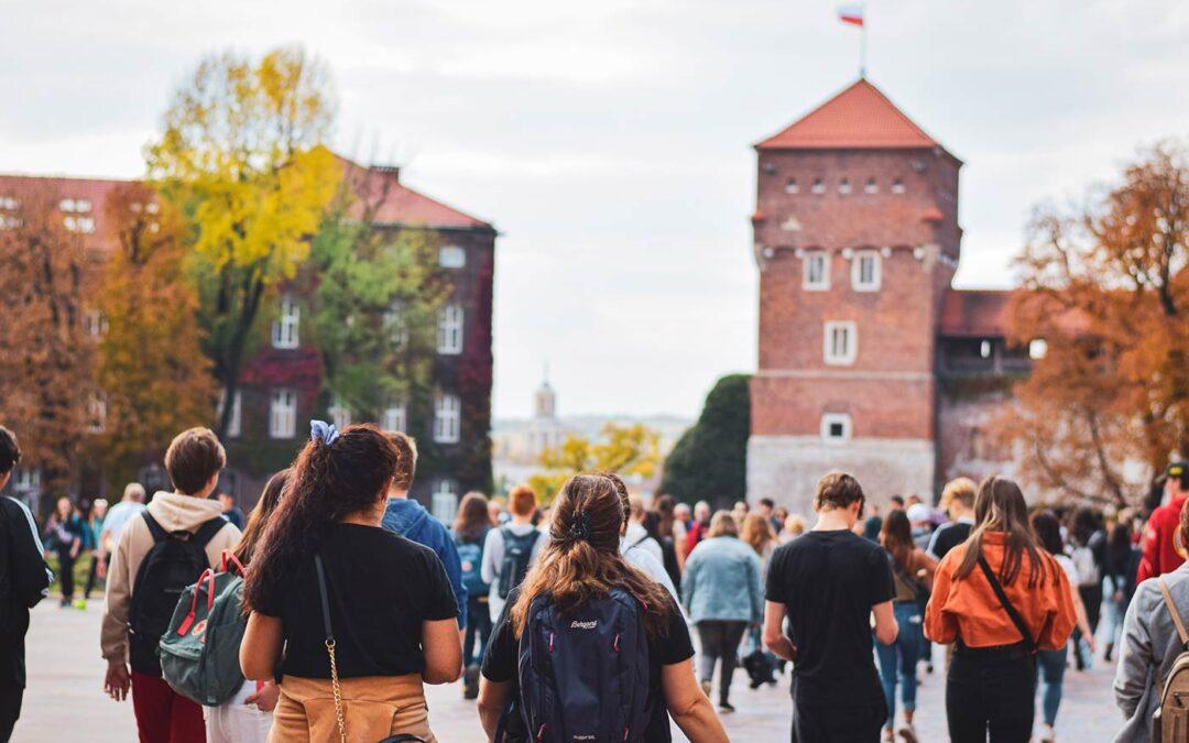 Klassisk skoletur til Krakow