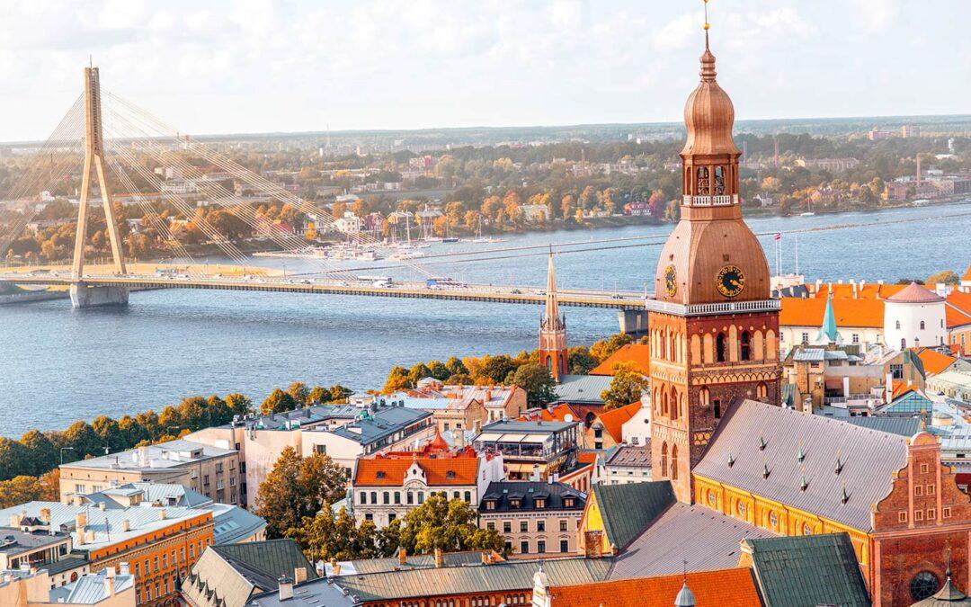 Vakre og historiske Riga!
